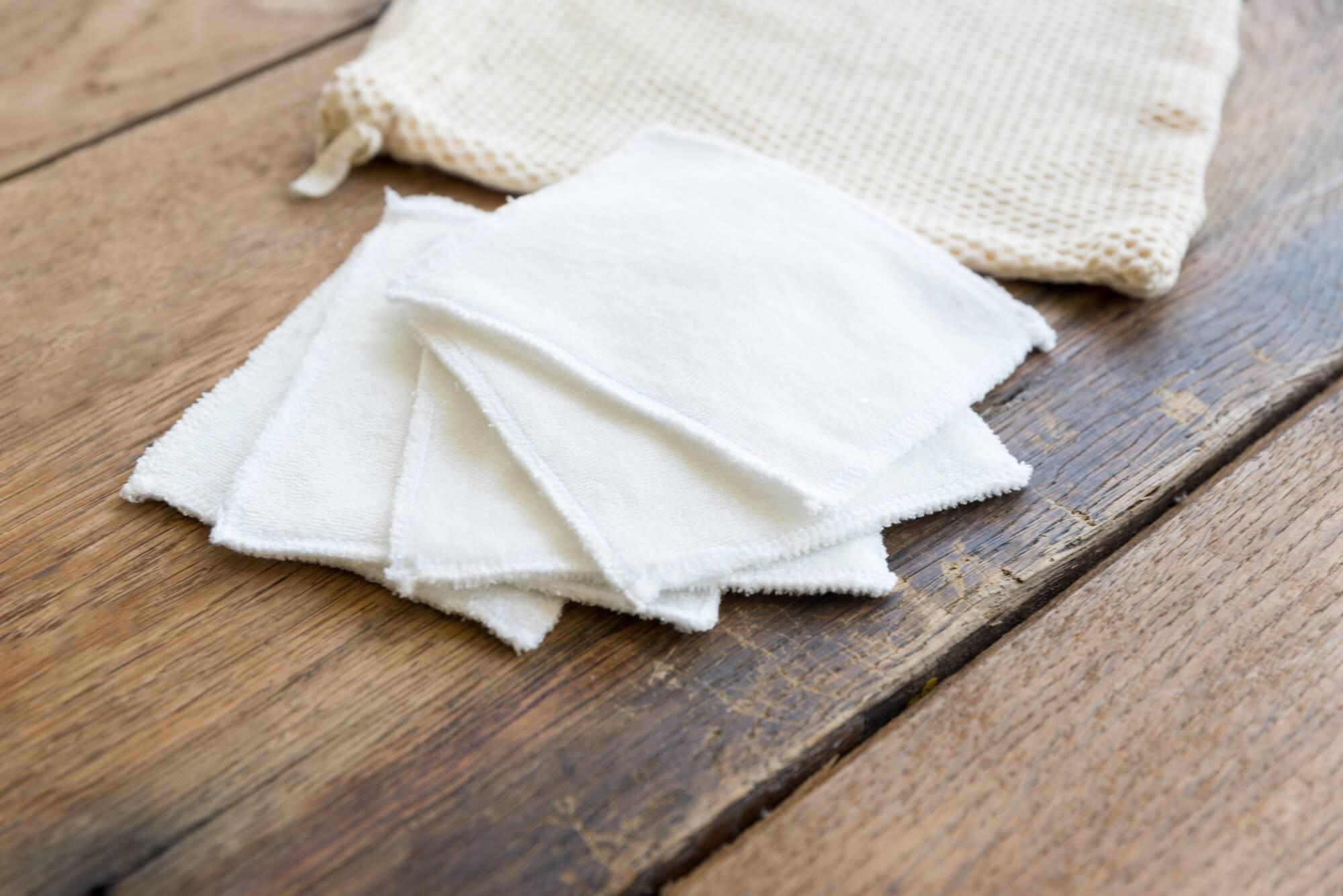 Lingettes lavables bébé