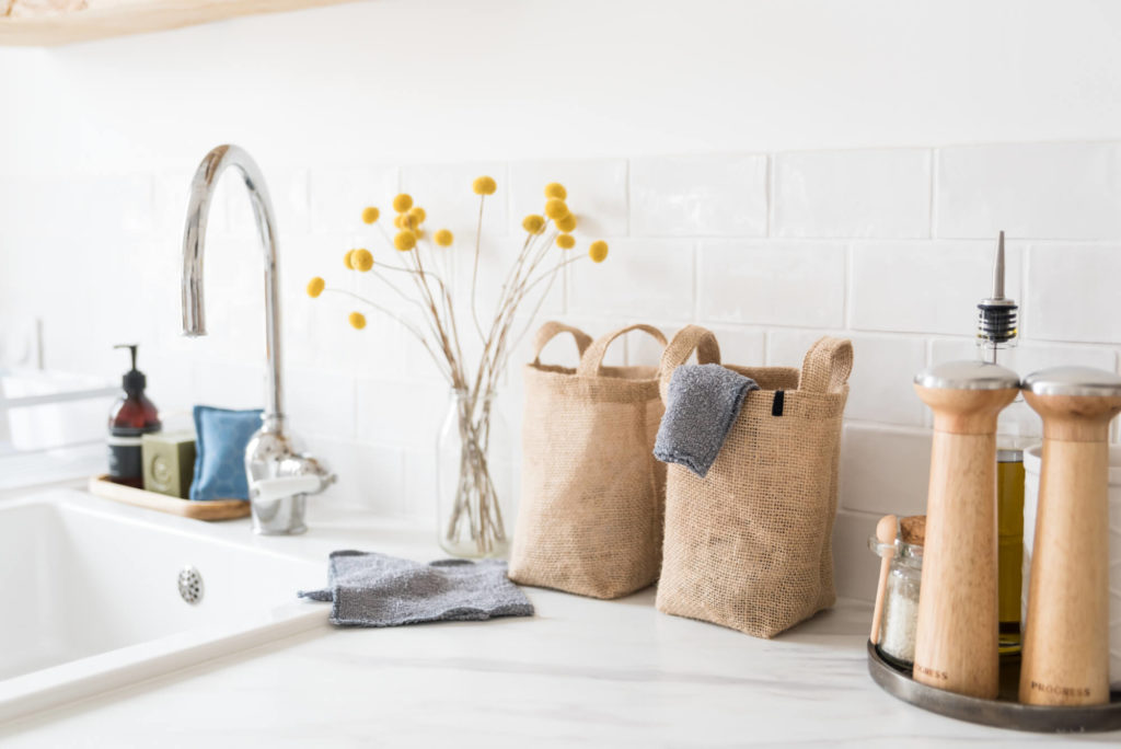 kit essuie-tout lavables