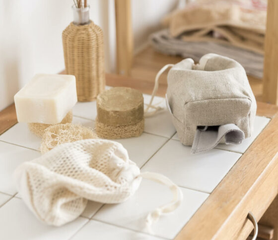 Kit cotons démaquillants lavables - Ecru © ManaMani